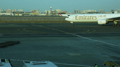 Dubai airport Stock Video Footage
