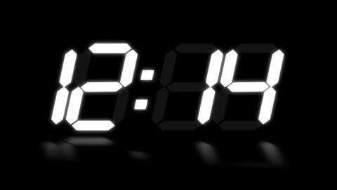 clock 1 Stock Video Footage