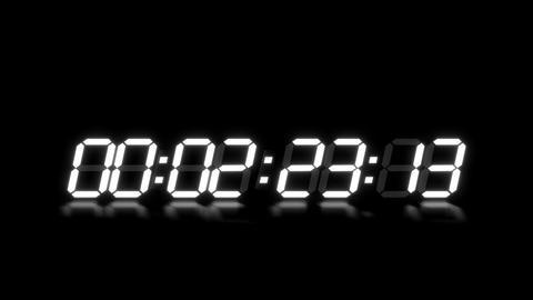 clock 7 Stock Video Footage