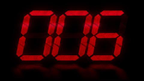 clock 9 Stock Video Footage