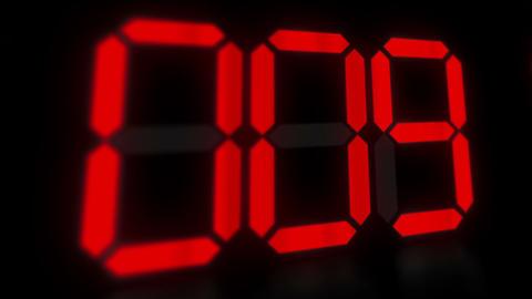 Clock 11 stock footage