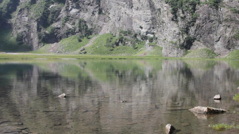 mountain lake Footage