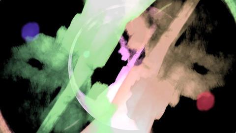 Art splash Stock Video Footage