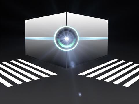 Street walk box Animation