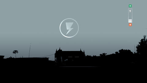 Electricity house Animation