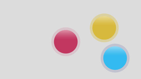 bouncing balls Stock Video Footage
