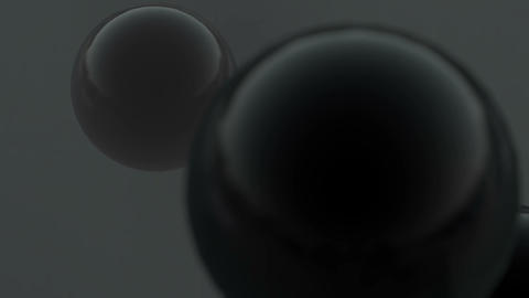 black balls Stock Video Footage