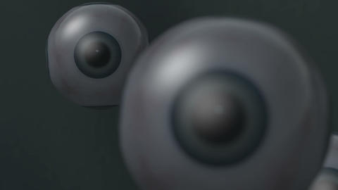 Eye balls Stock Video Footage