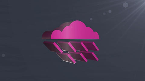 Cloud icon Animation