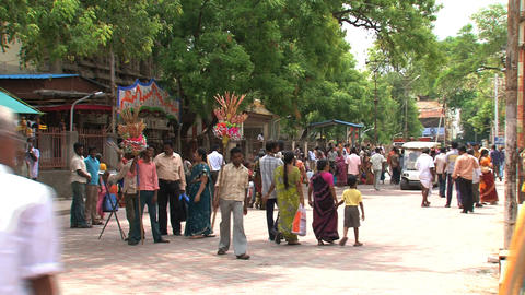 Tourism India Stock Video Footage