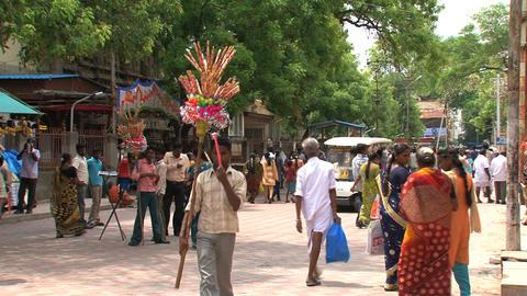 Tourism India Footage