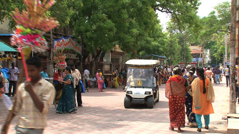 Tourism India Stock Video Footage