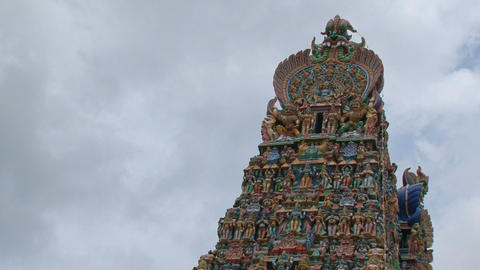Top Meenakshi Temple Footage
