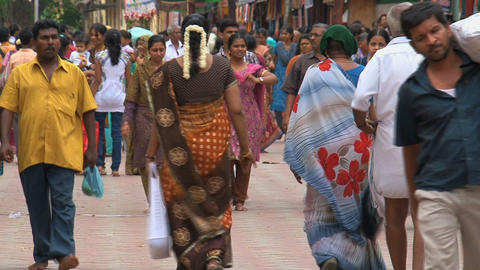 India people Stock Video Footage