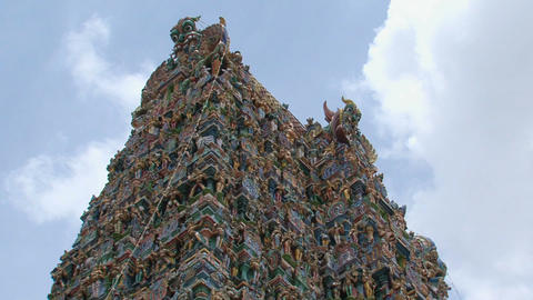 Top of The Meenakshi Temple Live Action