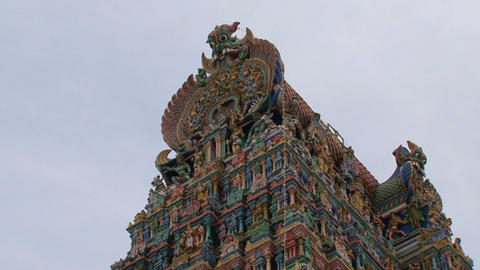 Meenakshi Temple Stock Video Footage