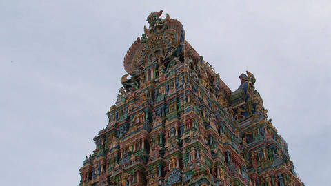 Zoom out temple Footage