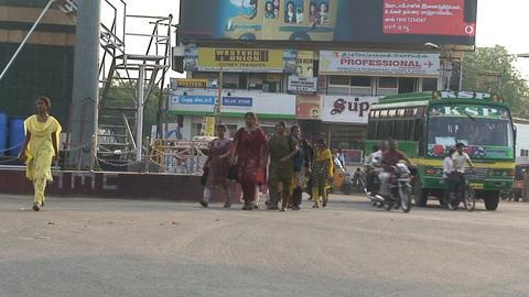 India 2 013 Footage