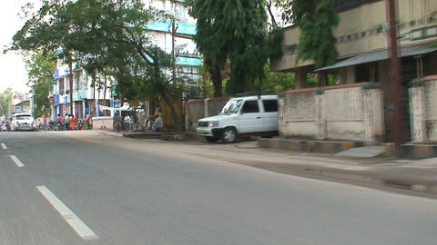 Hindustan Ambassador stock footage