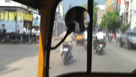Tuk Tuk driving Stock Video Footage