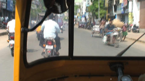 Tuk Tuk driving Footage