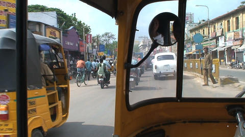 Traffic India Stock Video Footage