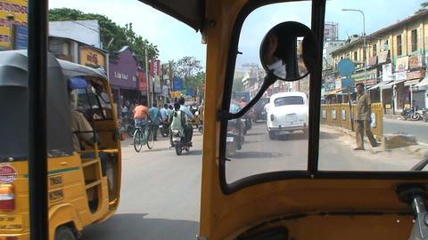 Traffic India Footage