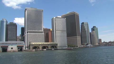 Skyline NYC 2010 Stock Video Footage