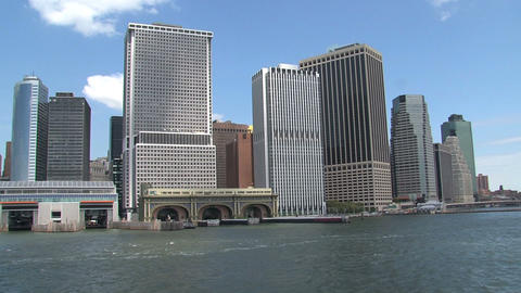 Skyline NYC 2010 Stock Video Footage