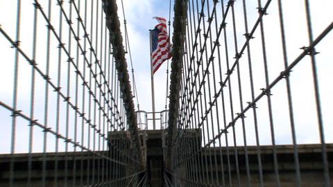 Brooklyn bridge Stock Video Footage
