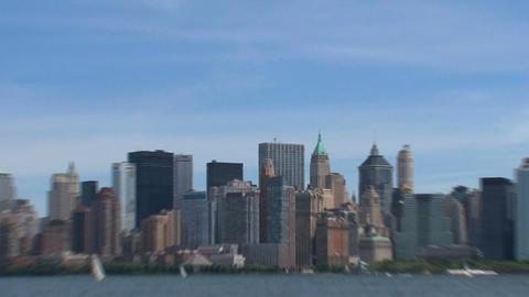 New York skyline 2010 Stock Video Footage