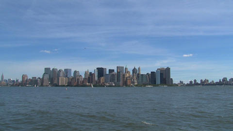 New York skyline 2010 Footage