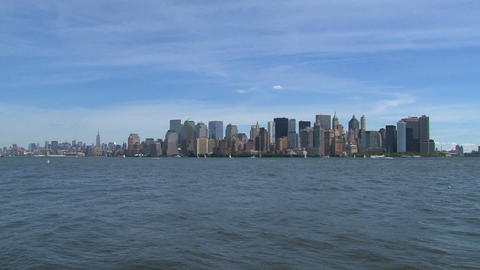 New York skyline Stock Video Footage