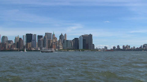 Circle line cruise Stock Video Footage