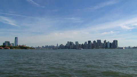 Skyline New York City 2010 Stock Video Footage