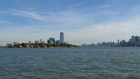 Ellis island Footage