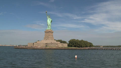 Liberty island Stock Video Footage