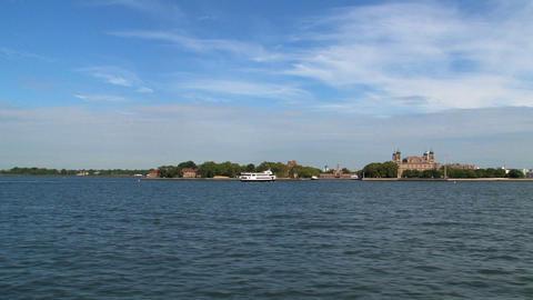 Ellis island Stock Video Footage