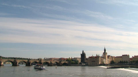 Prague city view Footage