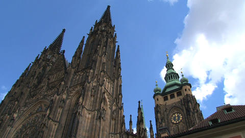 Prague Castle time lapse Footage