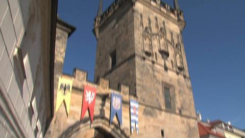 Bridge tower Stock Video Footage