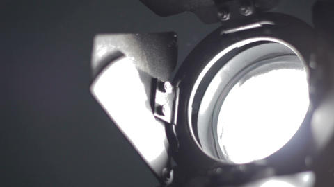 Floodlight Turns Off And On stock footage