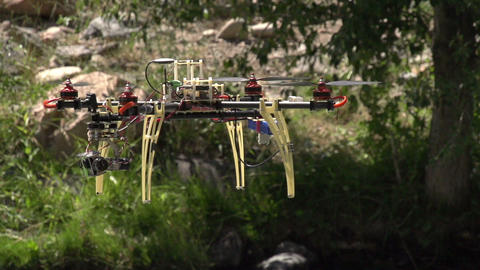 Hexa copter HD Stock Video Footage