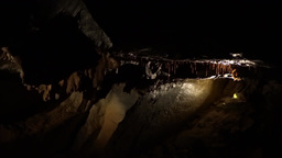 Aillwee Cave 2 Stock Video Footage
