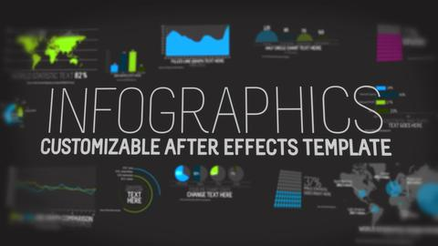 Infographics V1 Template After Effects Template