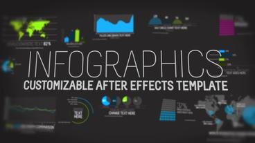 Infographics V1 Template Plantilla de After Effects