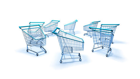 shopping cart 2 Animation