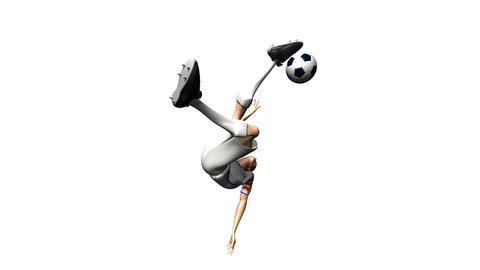 soccer 3 Stock Video Footage