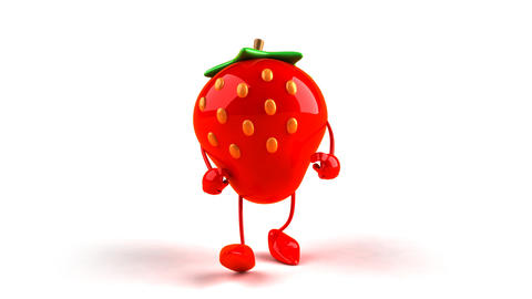 strawberry hiphop Animation