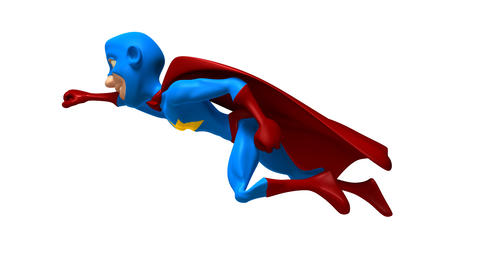 superhero Stock Video Footage